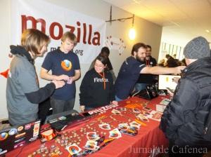 Fosdem. Mozilla stand