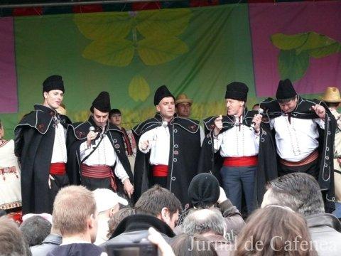 Solisti de muzica populara romaneasca la Bruxelles. Aprilie 2010