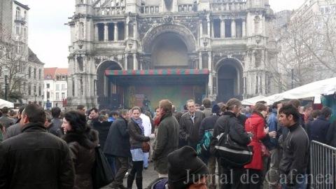 Piata Saint Catherine Bruxelles