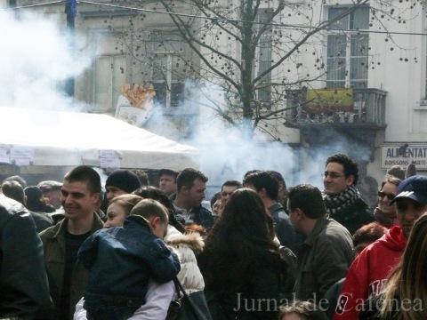 Fum de gratar la Bruxelles