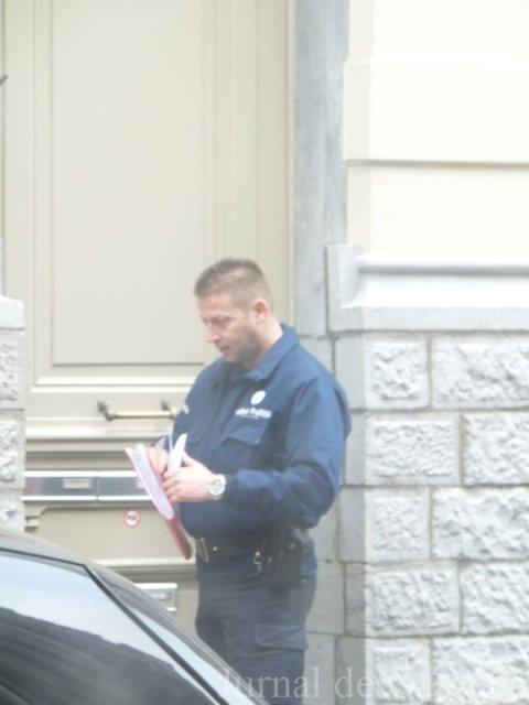 Agent de politie belgiana
