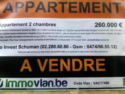 Apartament de vanzare la Bruxelles