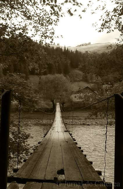 Pod leagan peste Bistrita