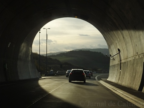 Tunnel exit. Germany