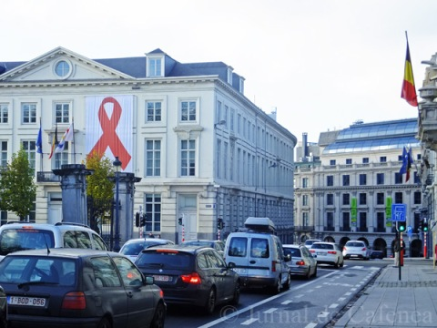 AIDS day in Brussels