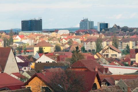 Acoperisurile rosii ale Sibiului