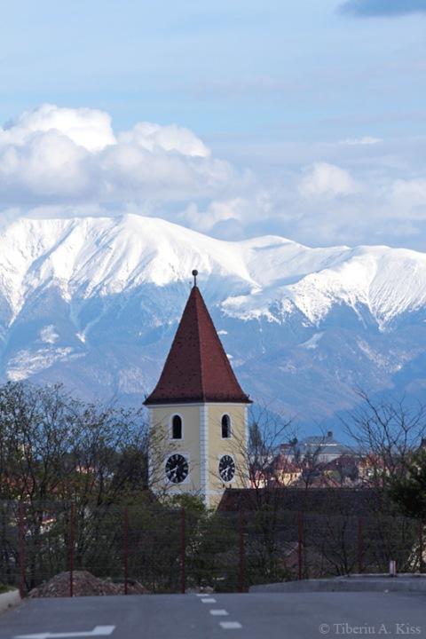 Turla bisercii, Sibiu
