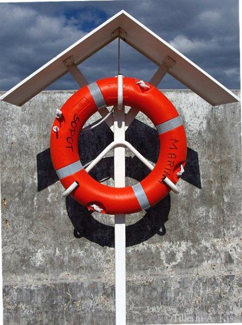 Colac de salvare la Marea Baltica