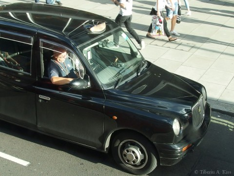 Cabbie on Oxford Street
