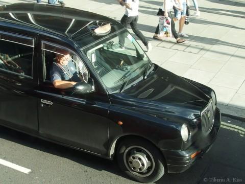 Cabbie on Oxford Street