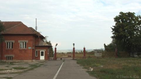 Punct de control - Fabrica de hartie Letea Bacau
